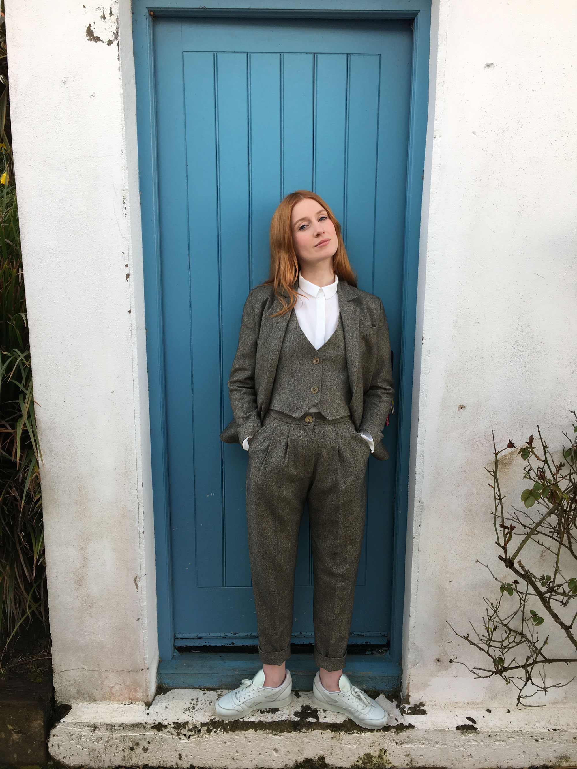 Bespoke suit for Elly Condron